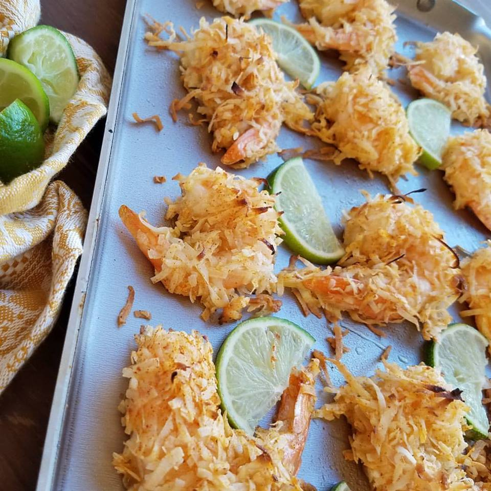 Baked Chili Coconut Shrimp https://cleanfoodcrush.com/baked-chili-coconut-shrimp