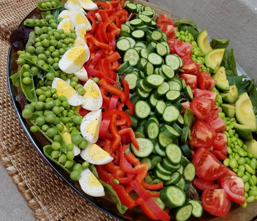 Chopped Fresh Garden Salad