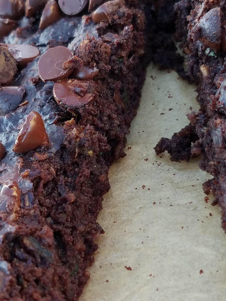 Delicious Flourless Dark Chocolate Zucchini Brownies https://cleanfoodcrush.com/brownies/