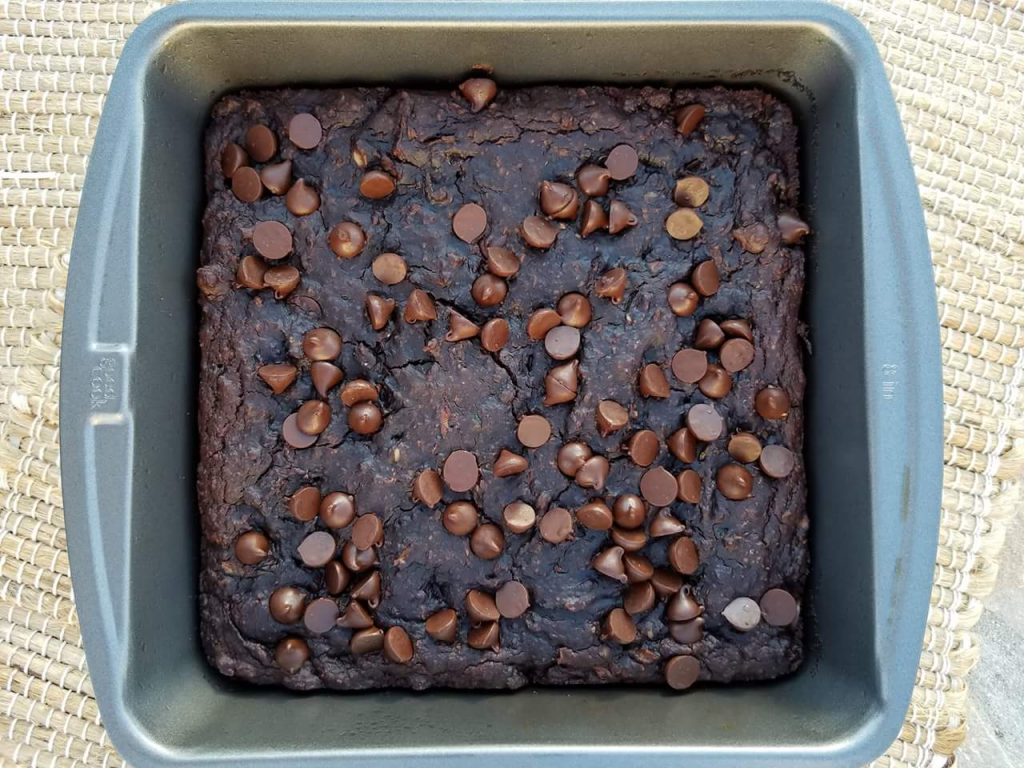 Flourless Dark Chocolate Zucchini Brownies Recipe https://cleanfoodcrush.com/brownies/