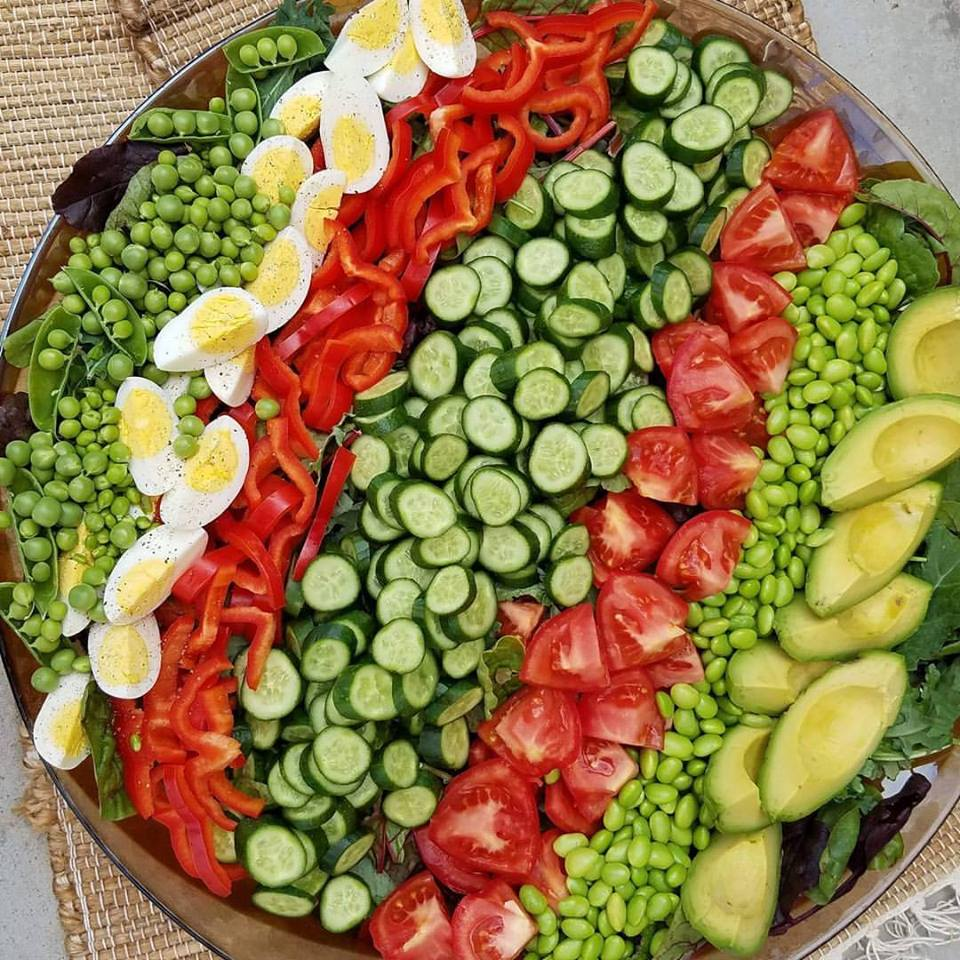 Garden Salad Https://cleanfoodcrush.com/garden Salad ...