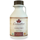Amazon.com : CANADIAN FINEST Maple Syrup | 100% Pure Certified Organic - #1 Rated Maple Syrup on Amazon - 16.9 oz - Grade B Dark Amber (B is the Best!) - Natural, Rich, Deep-Bodied Flavour & Loaded With Minerals, Vitamins and 54 Antioxidants - Support