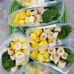 Pina-Colada Green Smoothies https://cleanfoodcrush.com/pina-colada-green-smoothies