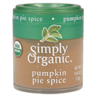Amazon.com : Simply Organic Organic Mini Pumpkin Pie Spice-0.46 Oz : Grocery & Gourmet Food