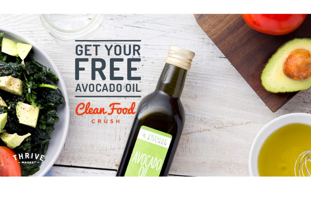 Get Your Free Bottle of 100% GMO-Free Avocado Oil at: https://cleanfoodcrush.com/free-avo-oil