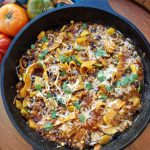 Chopped Enchilada Skillet https://cleanfoodcrush.com/chopped-enchilada-skillet/
