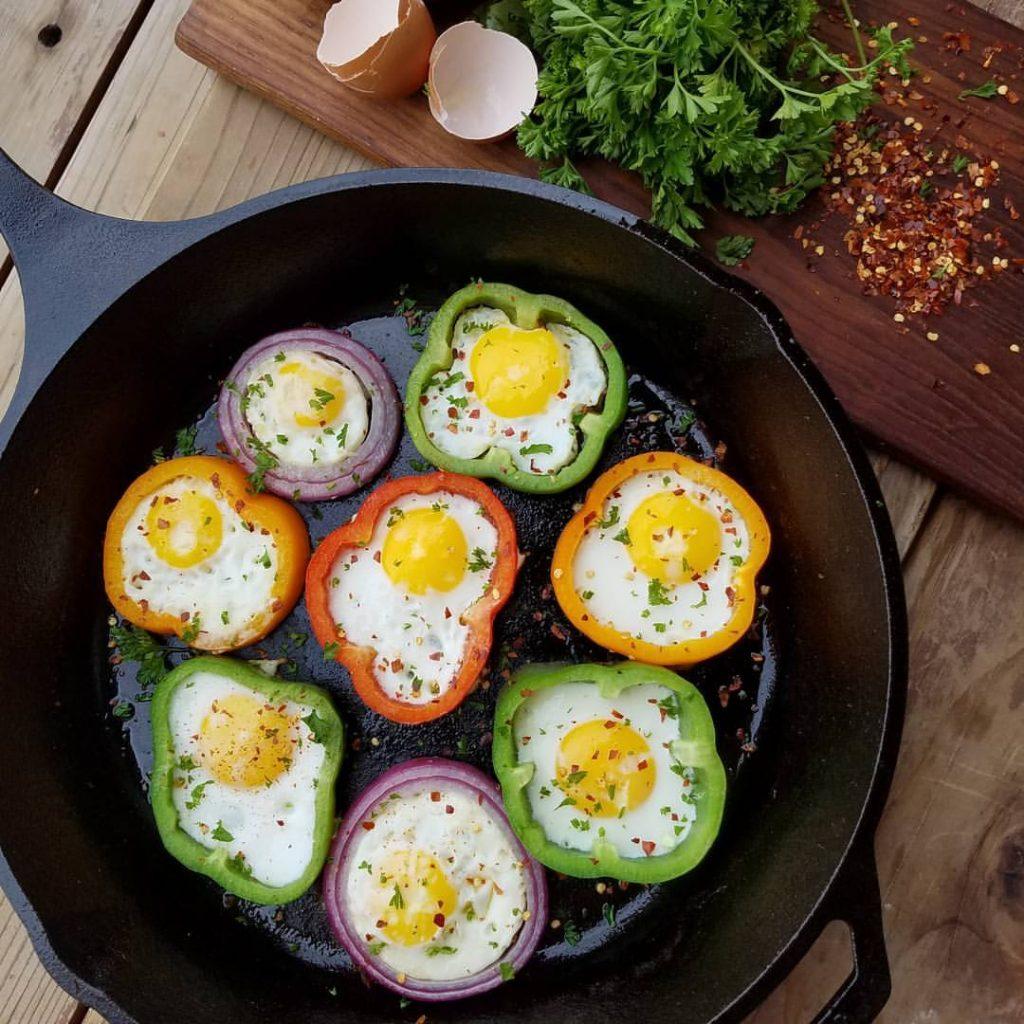 Eggs in Rings