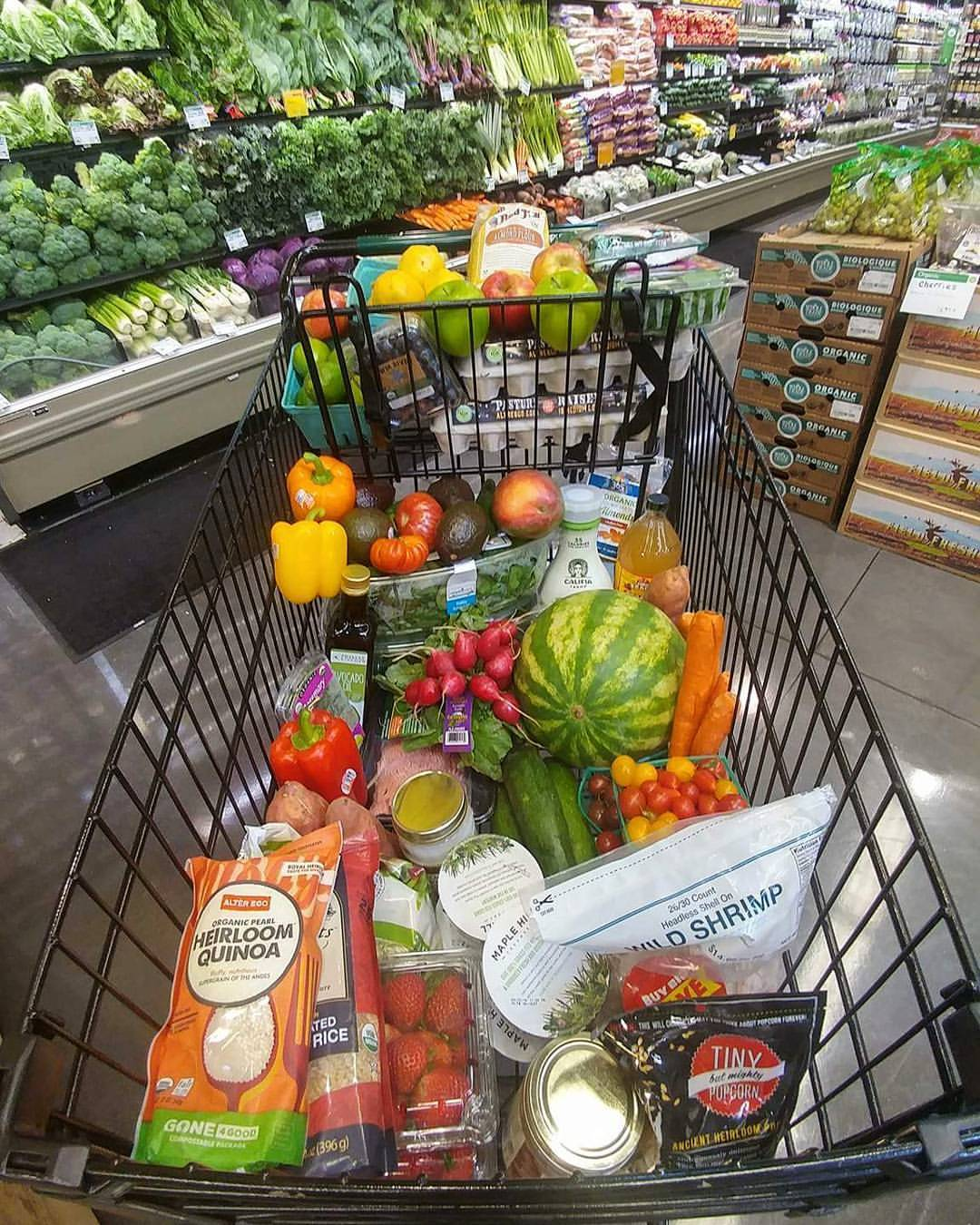 Simplify grocery shopping live better clean food crush for Shopping cuisine