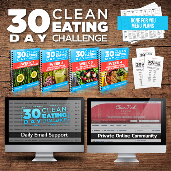 30 day clean eating challenge guide and materials