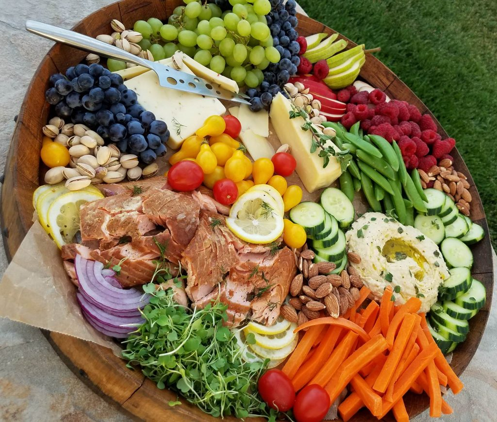 Clean Eating Party Platter for a Crowd
