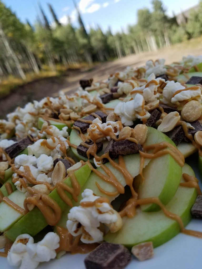 CleanFoodCrush Apple Nachos