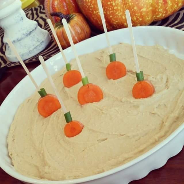 Hummus for Fall Parties!