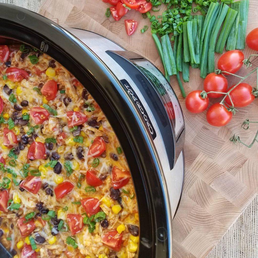 Crock-Pot Burrito Bowls