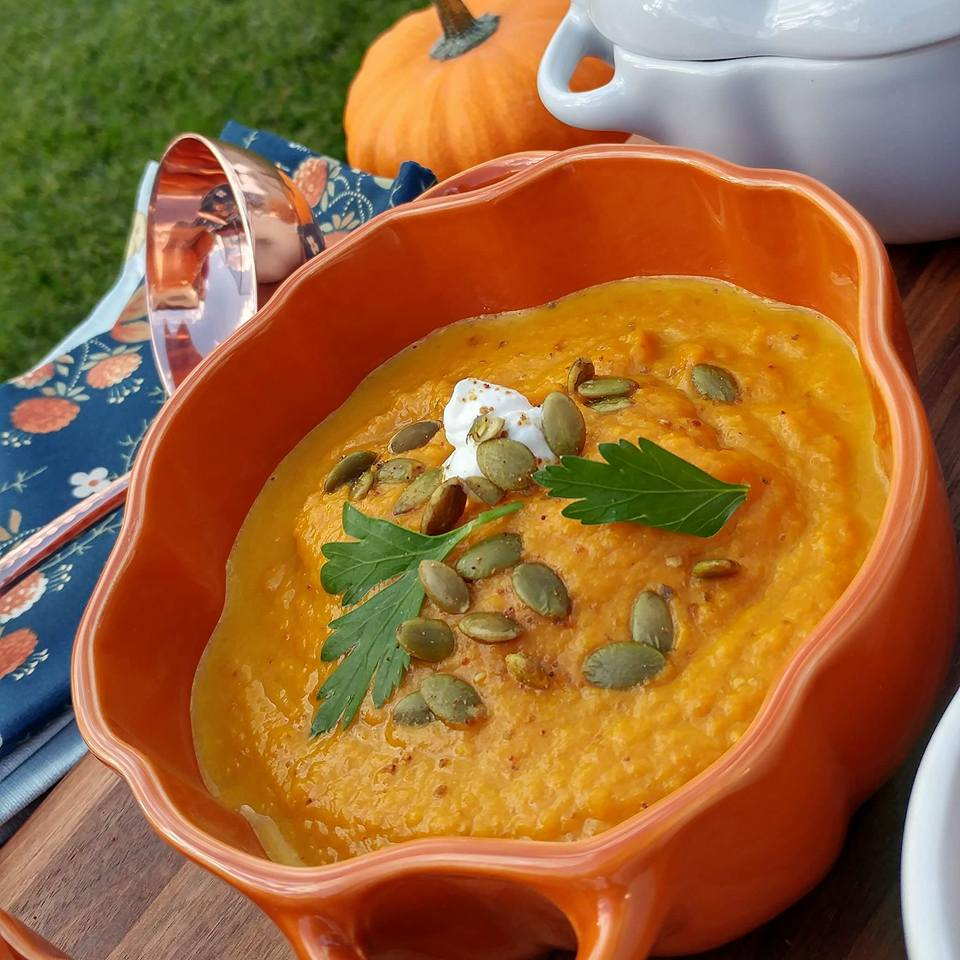 homemade-roasted-pumpkin-soup