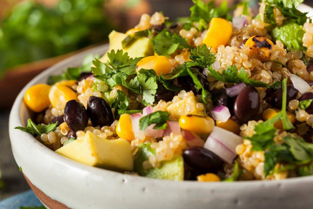 cilantro lime quinoa salad cleanfoodcrush