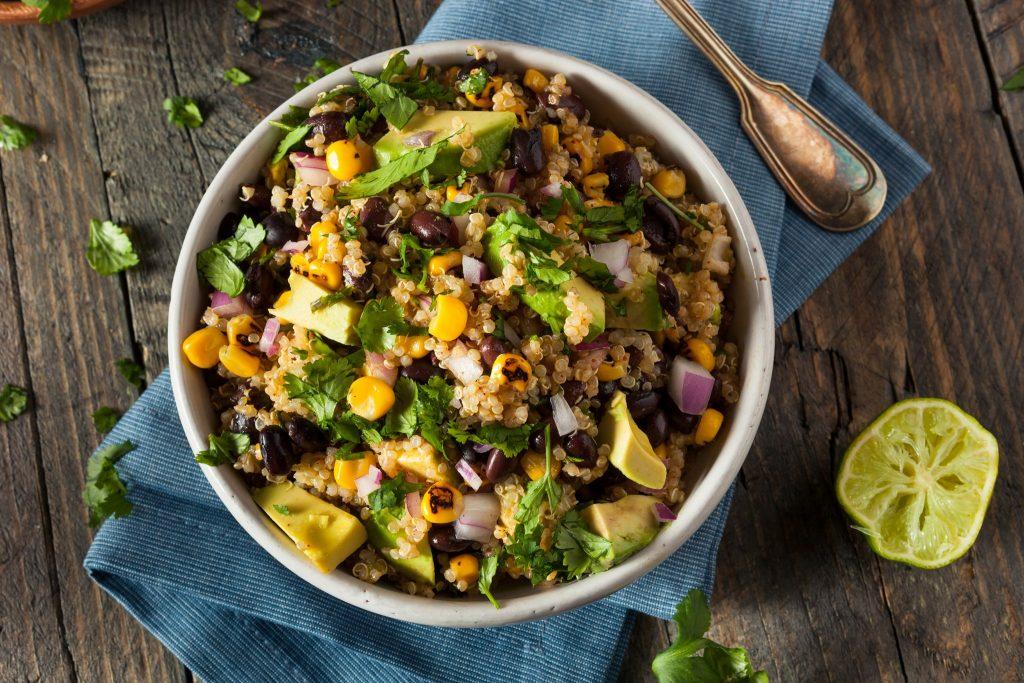 cilantro lime quinoa salad recipe