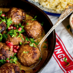 Meatballs in pomegranate sauce