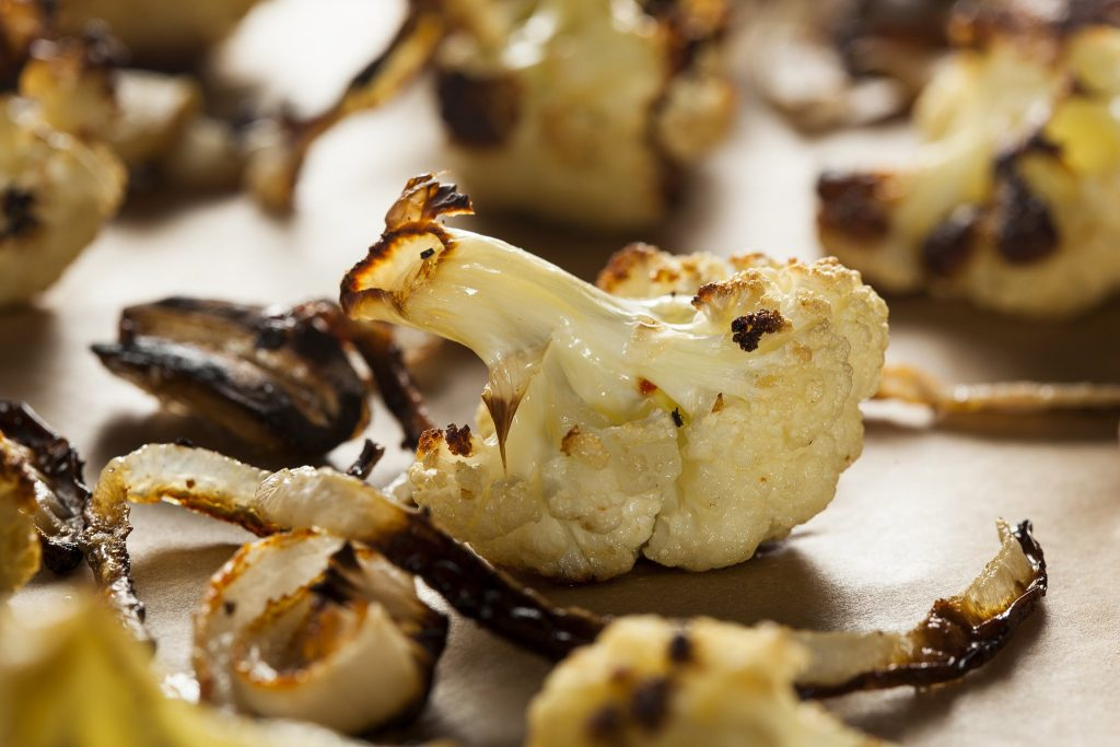 Roasted Cauliflower Caramelized Onions Recipe