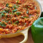 unstuffed bell pepper quinoa skillet recipe