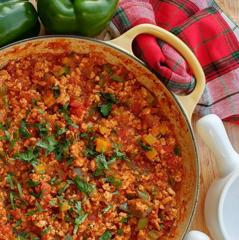 unstuffed bell pepper and quinoa skillet recipe
