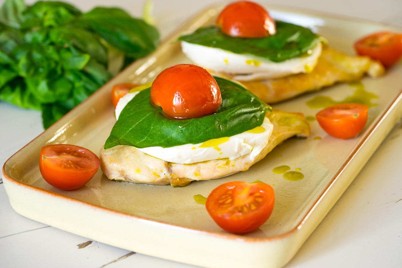 15 Minute Caprese Chicken