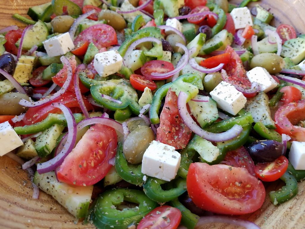 mediterranean chop chop salad recipe