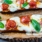 Mini-Melty Eggplant Pizzas Clean Eating Recipe