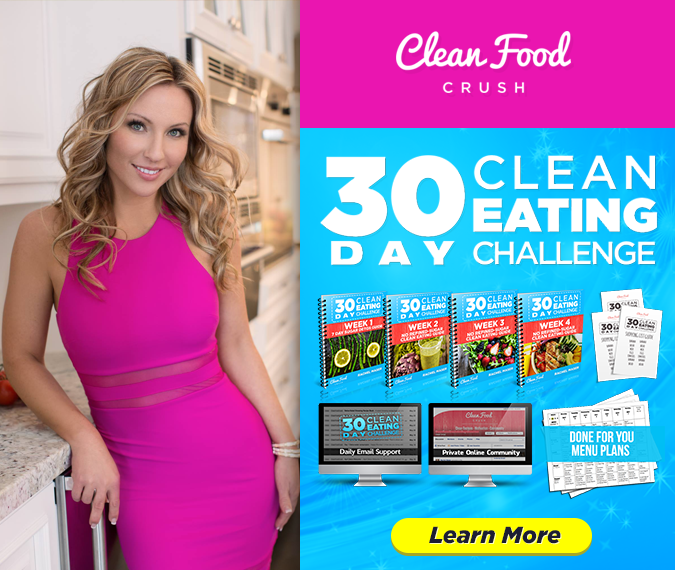 30 Day Clean Eating Challenge Banner