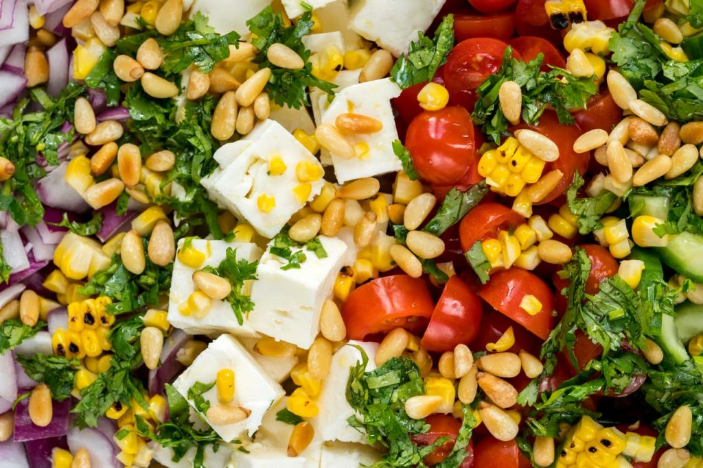 Quick and easy Greek salad recipe