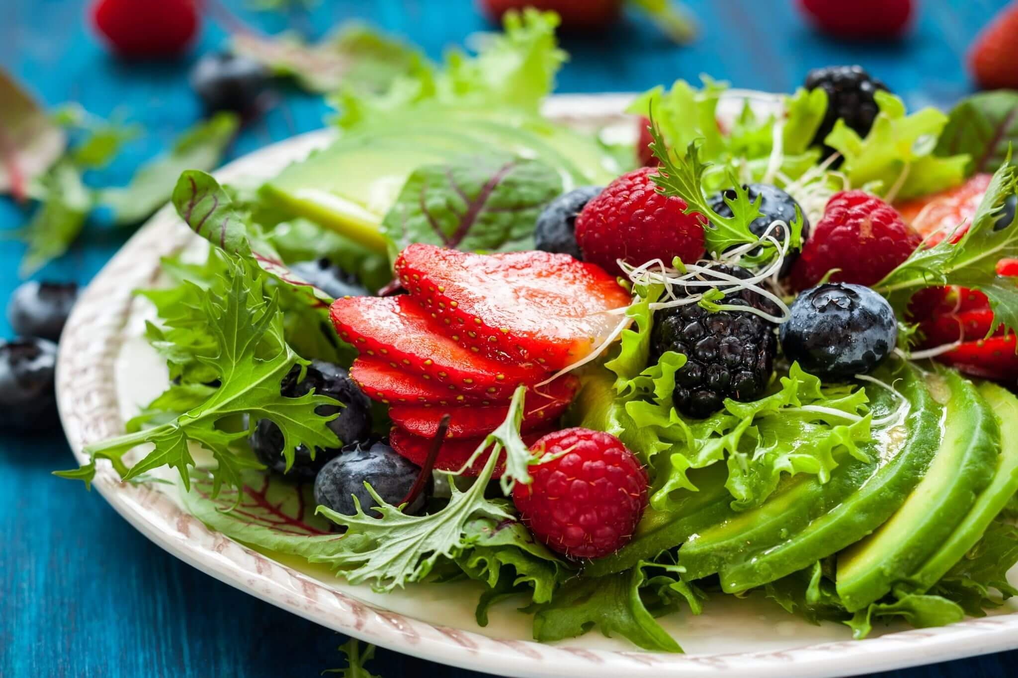 Healthy Berry Salad