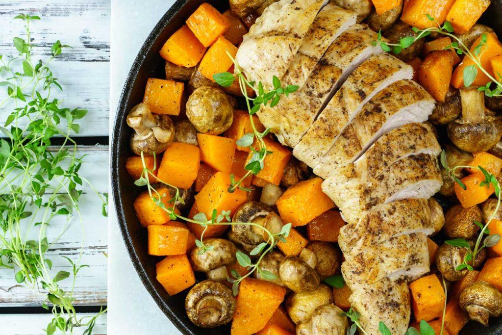 Turkey butternut squash recipe