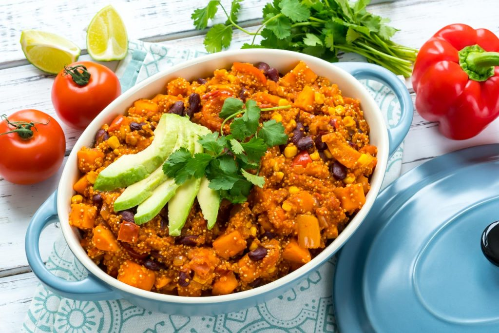 CleanFoodCrush Mexican Beans and Quinoa Recipe