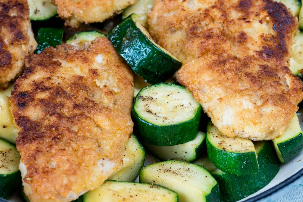 Grain free chicken zucchini dish
