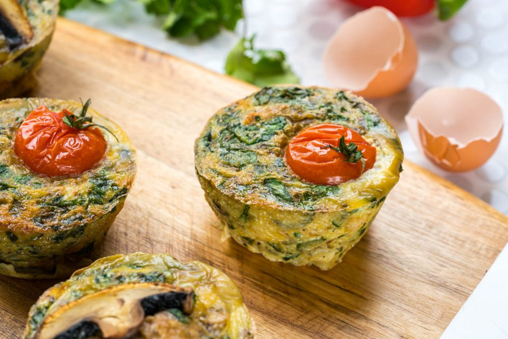 Easy to prepared Breakfast Frittata