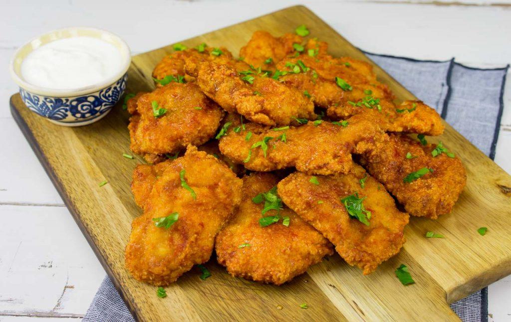 Gluten Free Sweet & Spicy Chicken Bites
