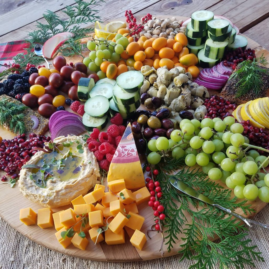 Gorgeous Clean Eating Party Platter