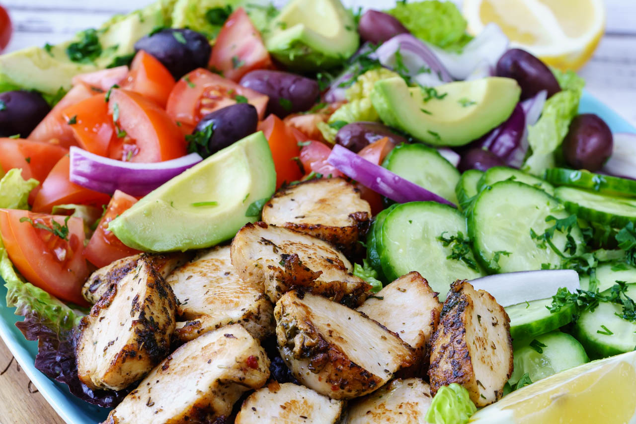 Mediterranean Chicken Salad Clean Food Crush