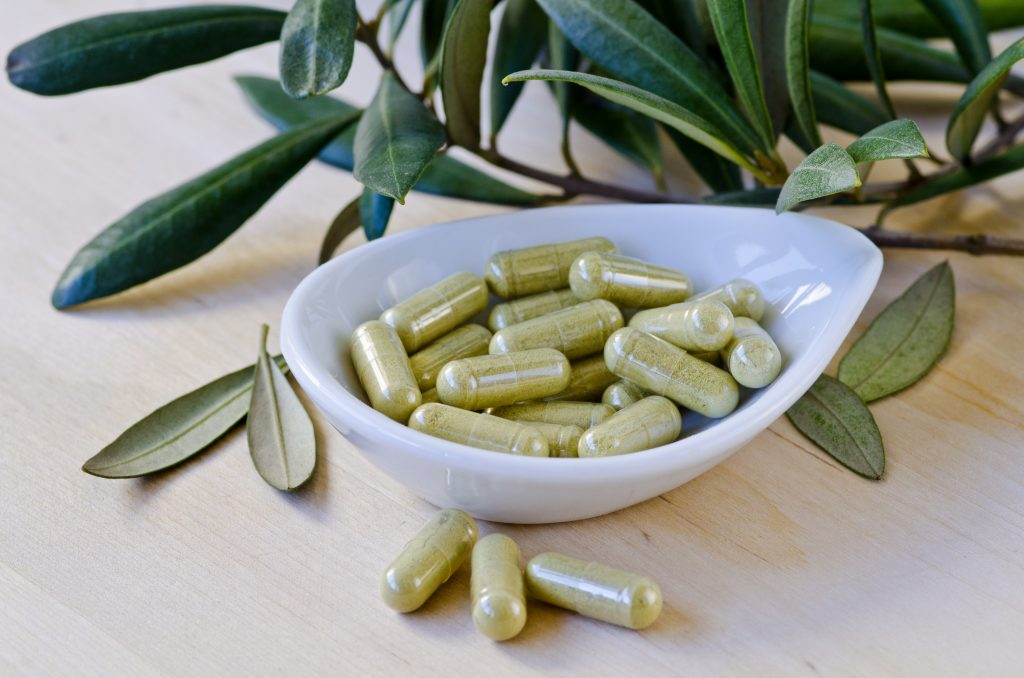 Olive Leaf Natural Antibiotic