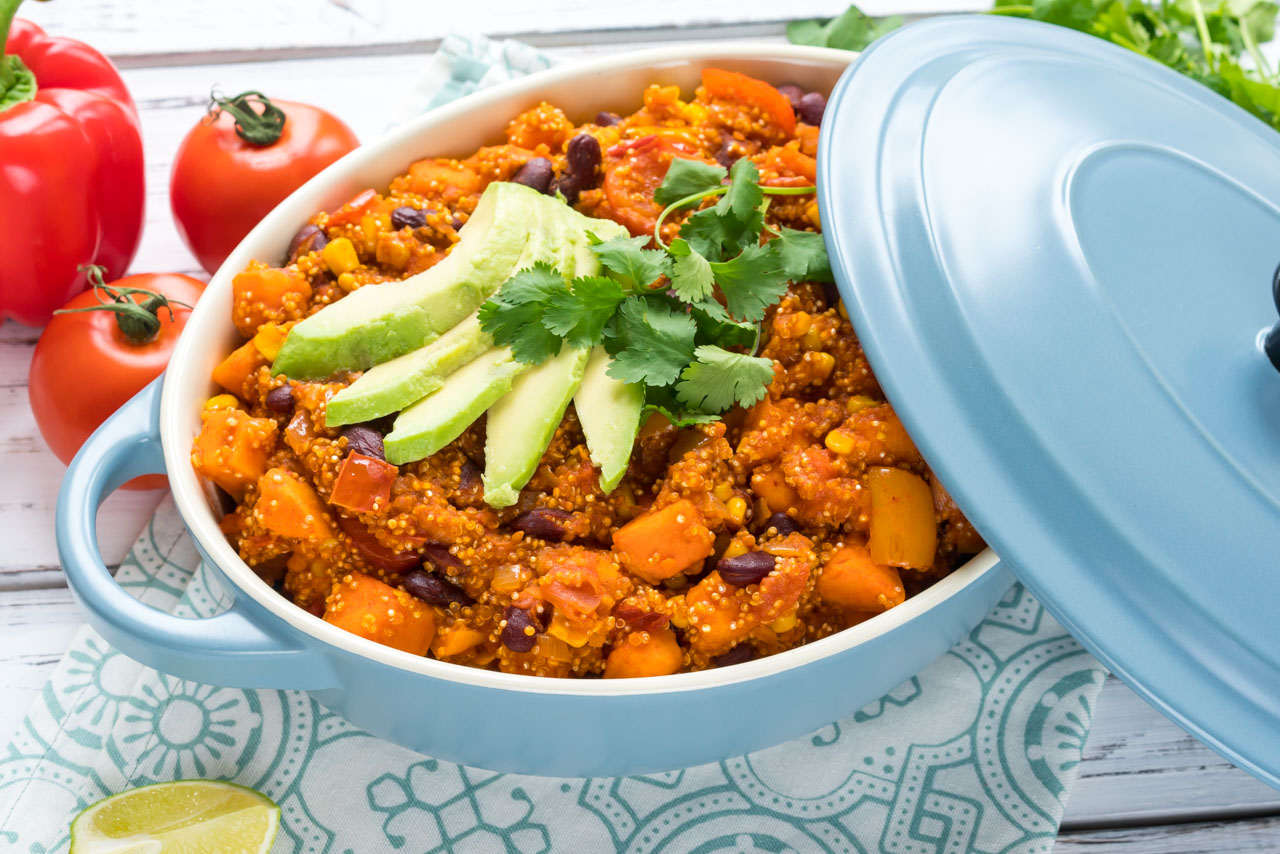 One Post Mexican Beans and Quinoa CleanFoodCrush