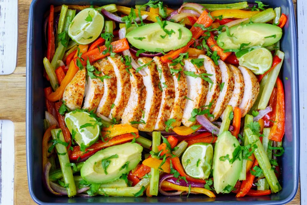 Chicken fajita clean eating recipes