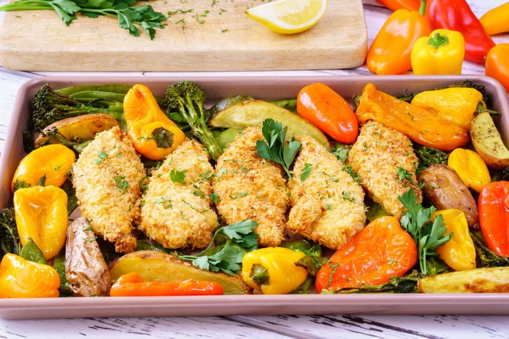 One pan crispy chicken recipe
