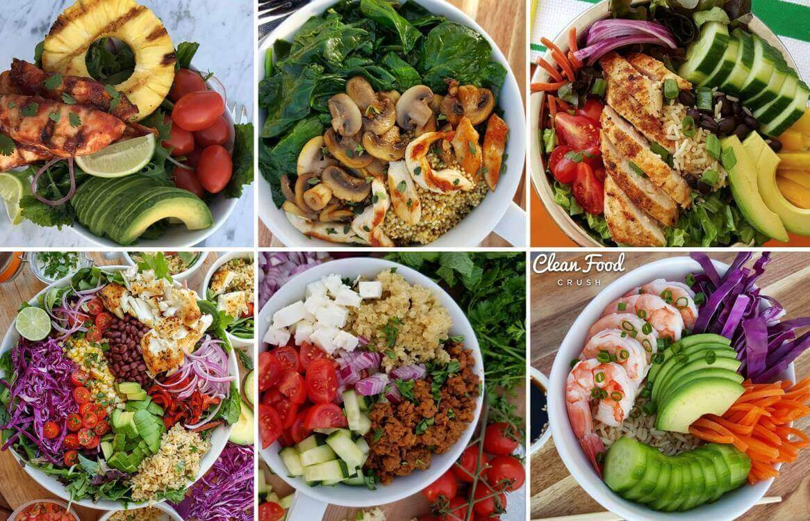 Six fit-bowl dishes for losing weight