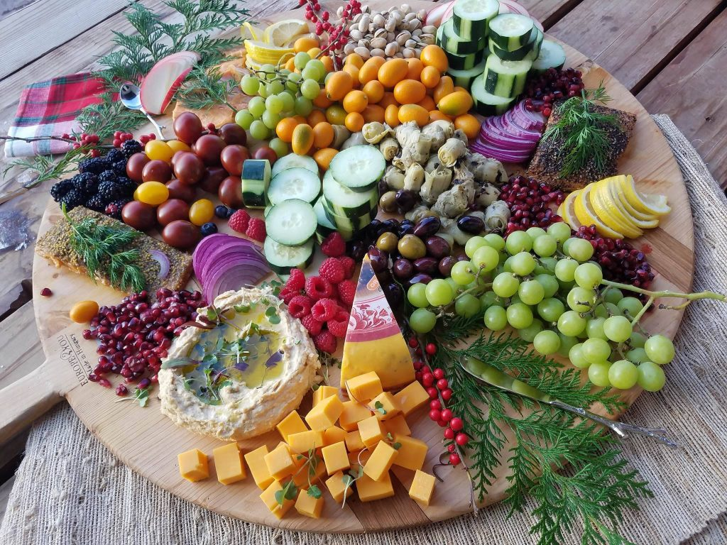 Party platter healthy snacks