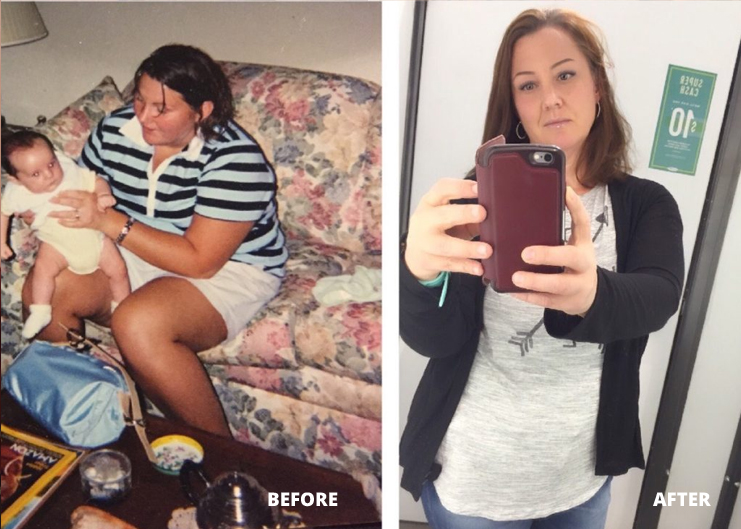 Billie Clean Eating Transformation