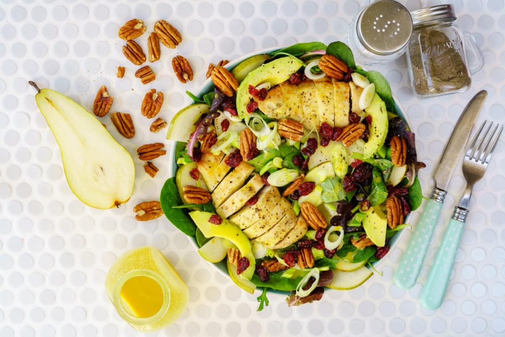 Chicken Avocado Pear Salad Recipe