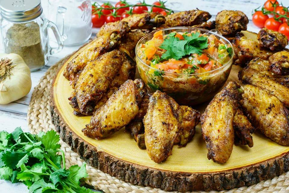 CleanFoodCrush Baked Jerk Chicken Wings