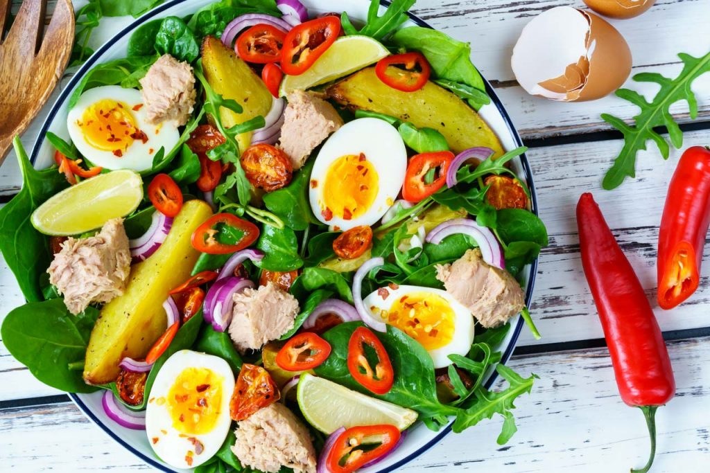 Fresh Tuna Nicoise Salad