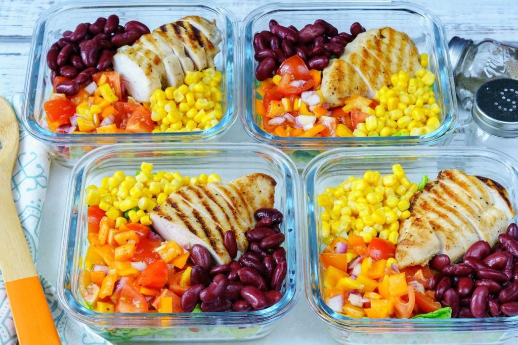 Deconstructed Chicken Burrito Bowl Recipe