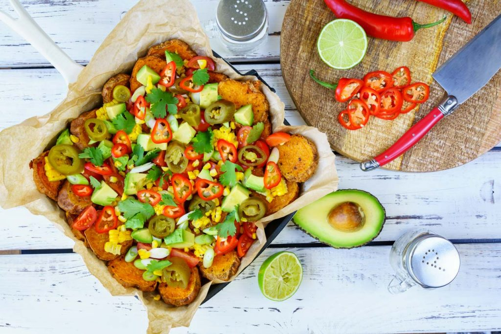 Eat Clean Eating Sweet Potato Nachos