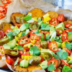 Healthy Sweet Potato Nachos CleanFoodCrush Recipe